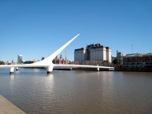 布宜诺斯艾利斯城市名片之六:女人桥