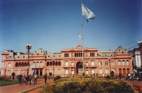 布宜诺斯艾利斯城市名片之八:总统府玫瑰宫