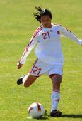 图文:[阿杯]女足6-5葡萄牙 宋晓丽罚点球