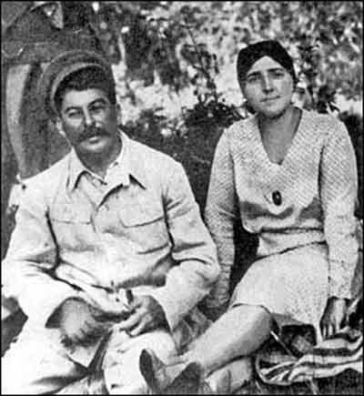 斯大林和他的第二任妻子