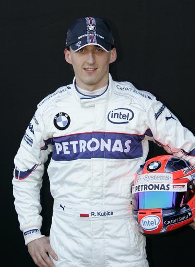 图文:08赛季F1车手正照 宝马-索伯车手库比卡