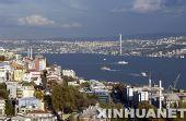 图文:伊斯坦布尔掠影 博斯普鲁斯海峡大桥