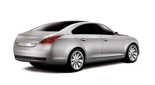 首尔国际车展上展示的双龙Wz概念车
