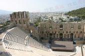 组图:搜狐奥运希腊抢先探营 雅典卫城风光一览