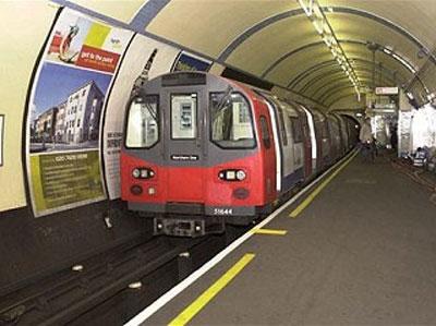 四通八达的伦敦地铁