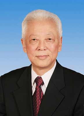 第十一届全国人民代表大会常务委员会副委员长周铁农。新华社发