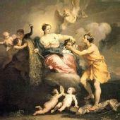 图文:古希腊神话人物油画欣赏--天后赫拉