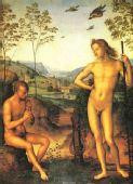 图文:古希腊神话人物油画欣赏--太阳神阿波罗