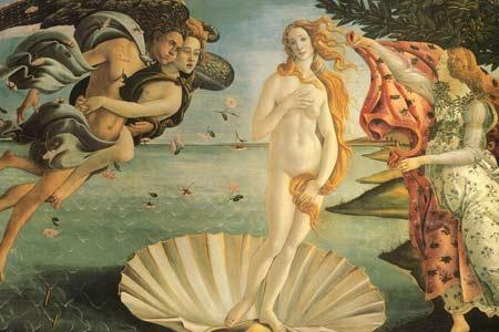 古希腊神话人物油画欣赏 维纳斯