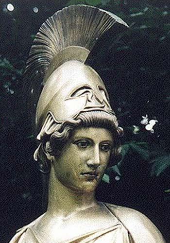 古希腊神话人物油画欣赏 雅典娜图片