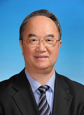 第十一届全国人民代表大会常务委员会副委员长桑国卫。新华社发