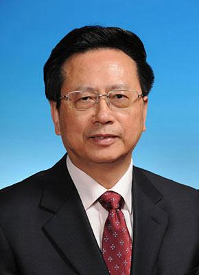 第十一届全国人民代表大会常务委员会副委员长陈昌智。新华社发