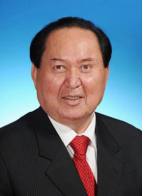 第十一届全国人民代表大会常务委员会副委员长司马义-铁力瓦尔地。新华社发