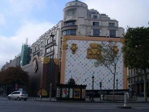 图文:巴黎城市名片 奢侈品牌LV