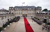 图文:巴黎城市名片 法国总统府爱丽舍宫
