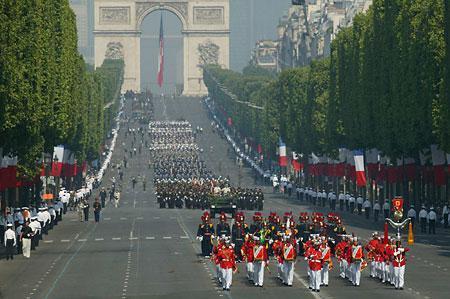 巴黎城市名片十二 香榭丽舍大街