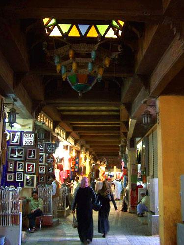 位于马斯喀特市中心的传统市集