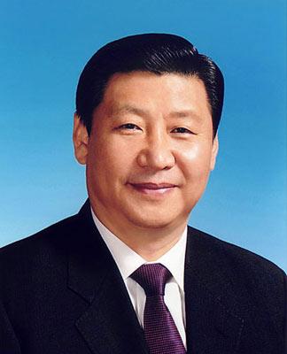 中华人民共和国副主席习近平。新华社发
