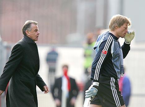 图文:科特布斯2-0拜仁 将帅黯然下场