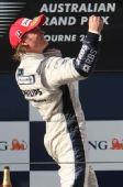 图文:[F1]澳洲站正赛 罗斯伯格激情时