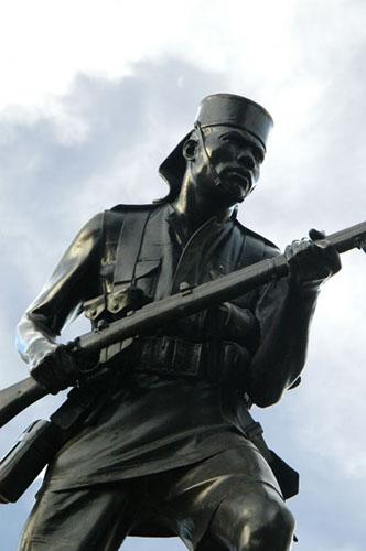 一战士兵纪念碑