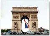 巴黎火炬传递线路解读之 凯旋门