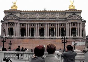 巴黎火炬传递线路解读之 巴黎歌剧院
