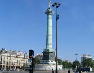 巴黎火炬传递线路解读之 巴士底狱遗址