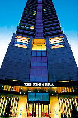 这间24层楼的半岛酒店兴许就是世界上服务最为周全的酒店了