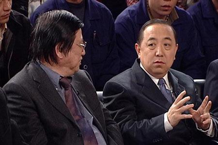 中国社科院社会政策研究中心秘书长唐钧rn与劳动与社会保障部副部长杨志明