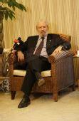 图文:希腊奥林匹亚市长访京 目光深邃侃侃而谈