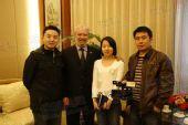 图文:希腊奥林匹亚市长访京 与搜狐采访组合影