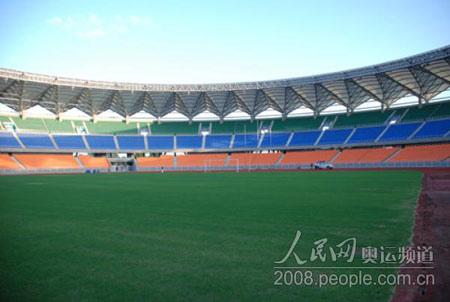 由中国援建的坦桑尼亚国家主体育场将是火炬接力的重要场所。