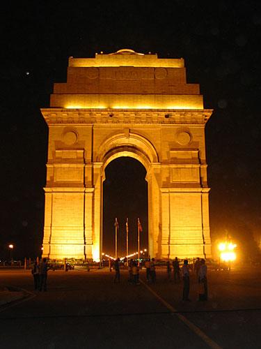 图文:印度首都新德里景点- 印度门