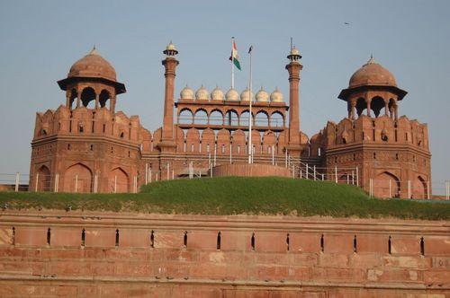图文:印度首都新德里景点- 红堡