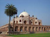 图文:印度首都新德里景点- 胡马雍陵