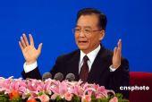 图文:中国总理温家宝答中外记者问