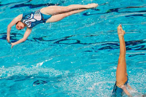 欧洲游泳锦标赛精彩瞬间