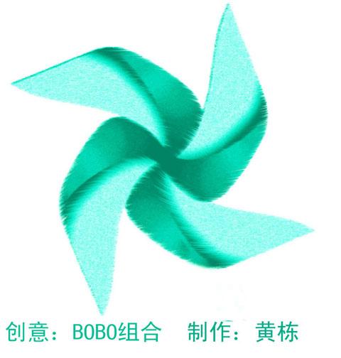 BOBO设计的第一个环保LOGO