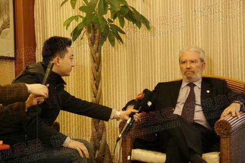 搜狐前方报道组对话奥林匹亚市长