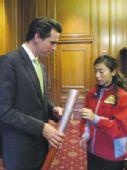 奥运圣火将传递到旧金山 市长纽森强调首重安全