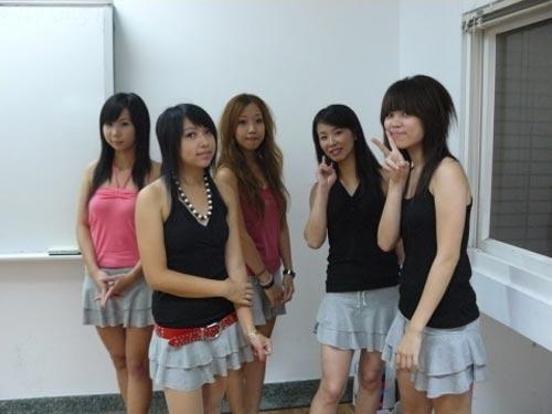 图文:中国台北计分美女总动员