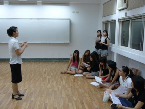 图文:中国台北计分美女
