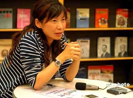香港凤凰卫视著名女记者闾丘露薇(资料图)。 中新社发 楚天行 摄