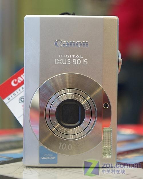 千万像素加光学防抖 佳能IXUS 90 IS上市