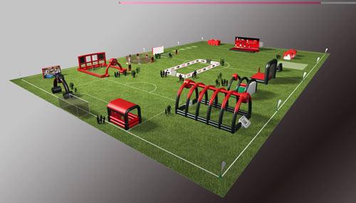 1场地(地坛体育中心)--3D图