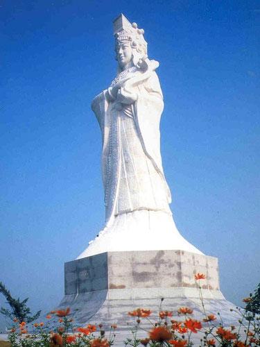 澳门妈祖神像