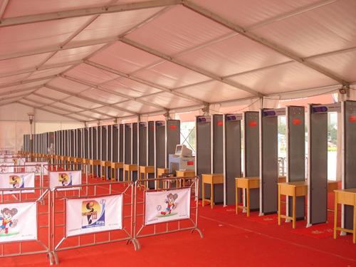 天津奥林匹克中心室内安检门
