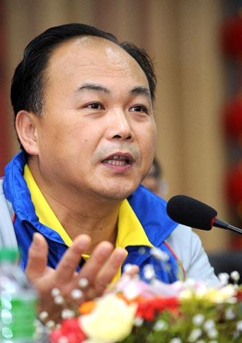 主帅陈文斌答记者问