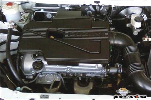 ...上的是国产铃木M16A发动机,这款发动机具备VVT技术和高压缩比...